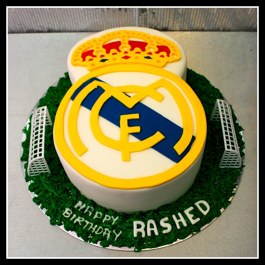 The house of cakes dubai 39 s most recent flickr photos picssr - Real madrid decorations ...