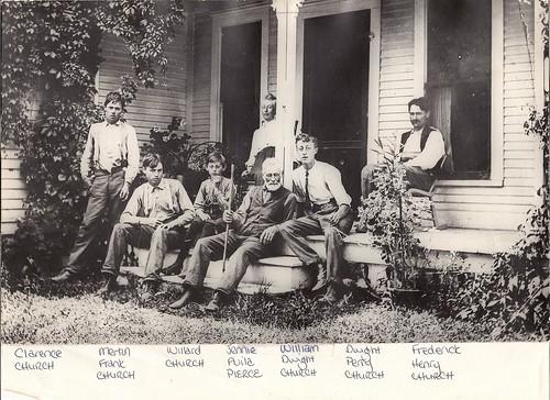 Church Family Canton 1907