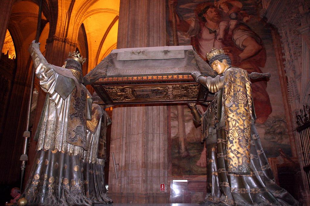 Colón en Sevilla