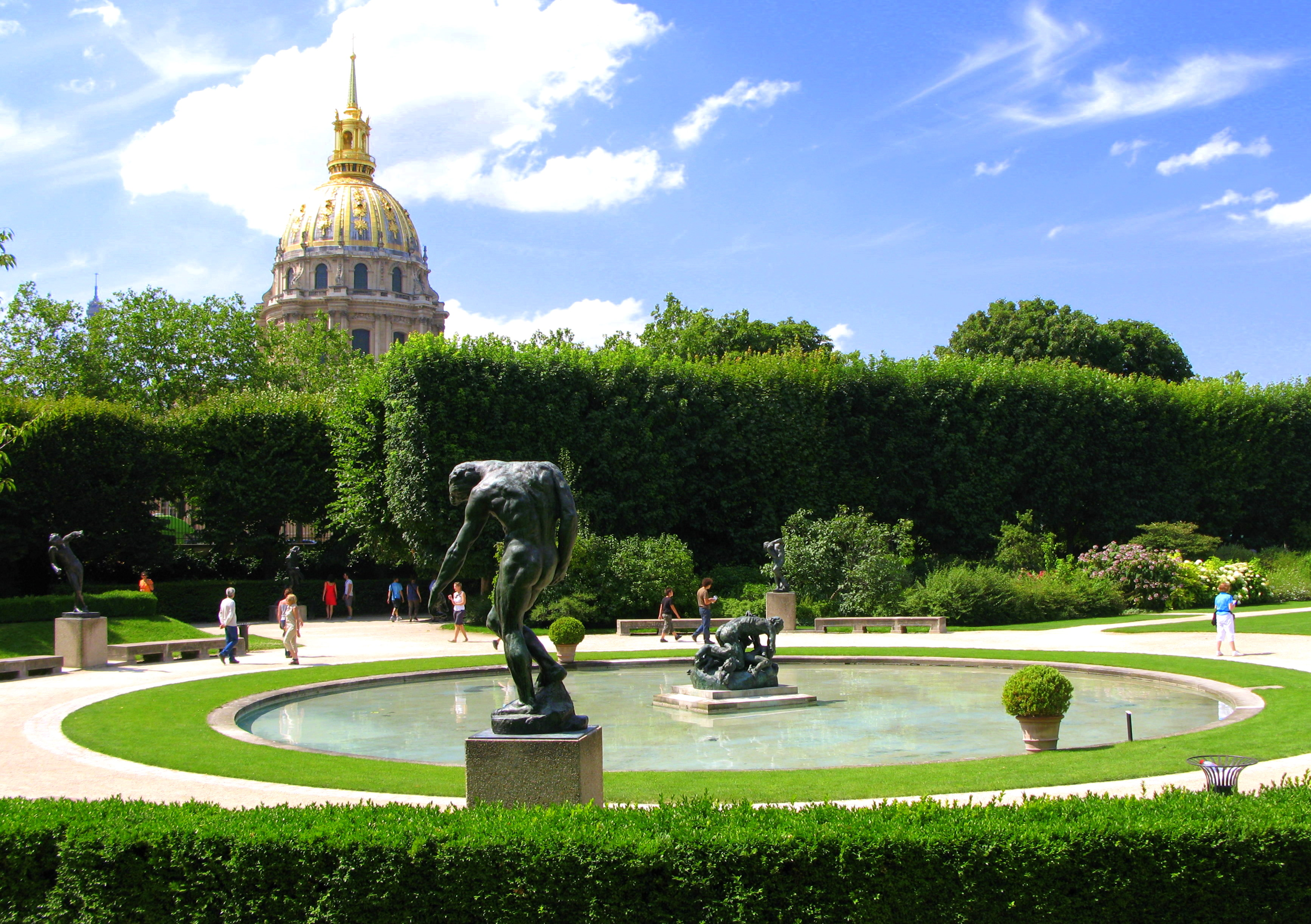 Le jardin du mus e rodin flickr photo sharing for Le jardin du yoga
