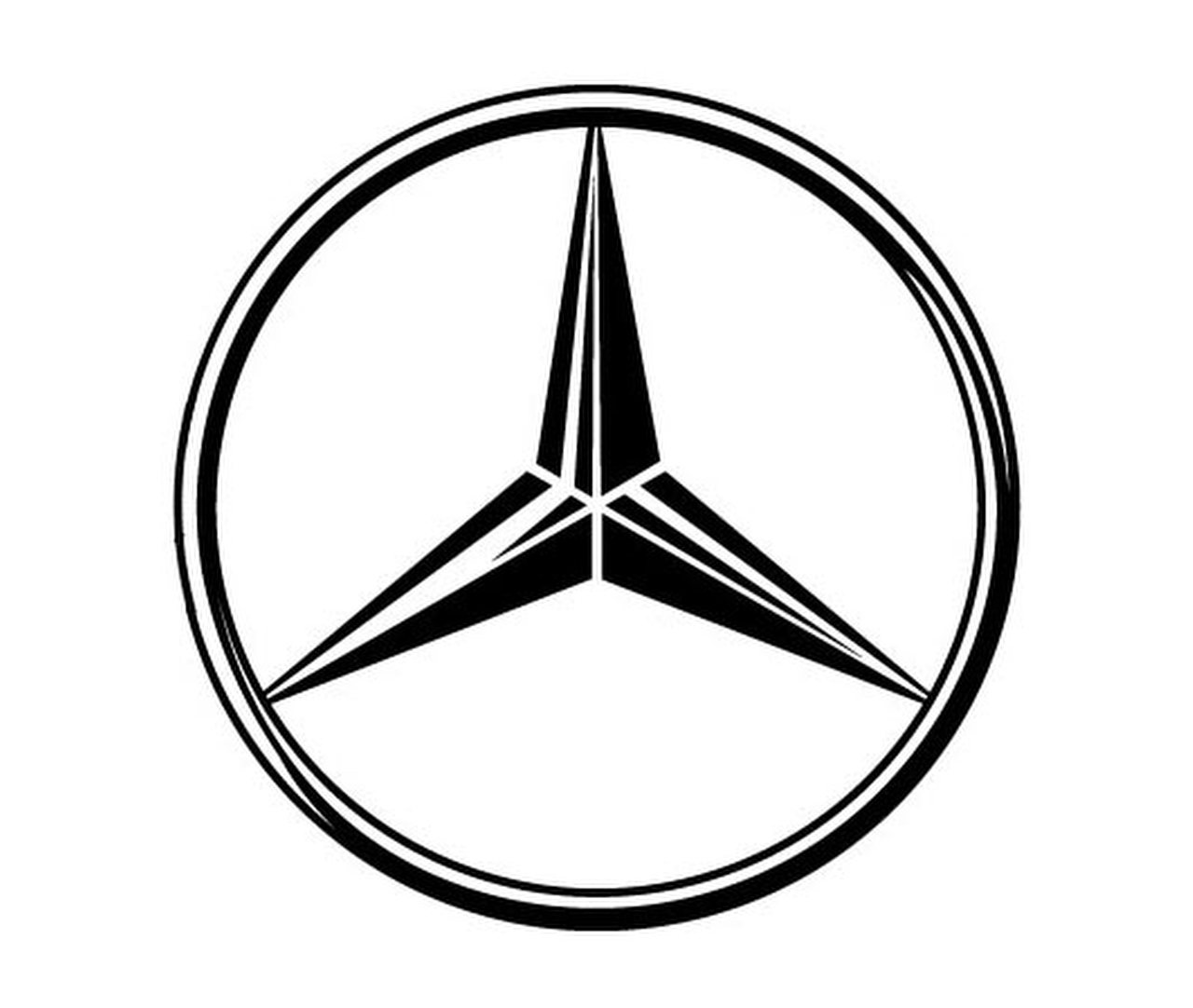 Benz mercedes sign for Mercedes benz sign in