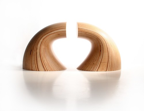 Wave Book Ends, ODEChair by Jolyon Yates