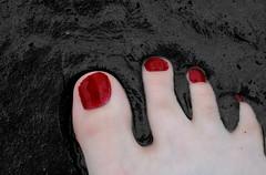 палец на ноге