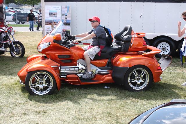 4 Wheel Honda Goldwing Motorcycle Car Interior Design