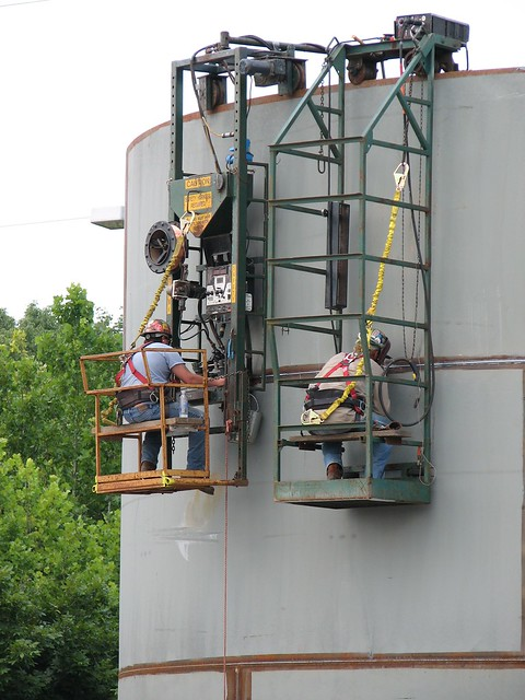 Water Tank Destruction : Blue grass chemical agent destruction pilot plant fire