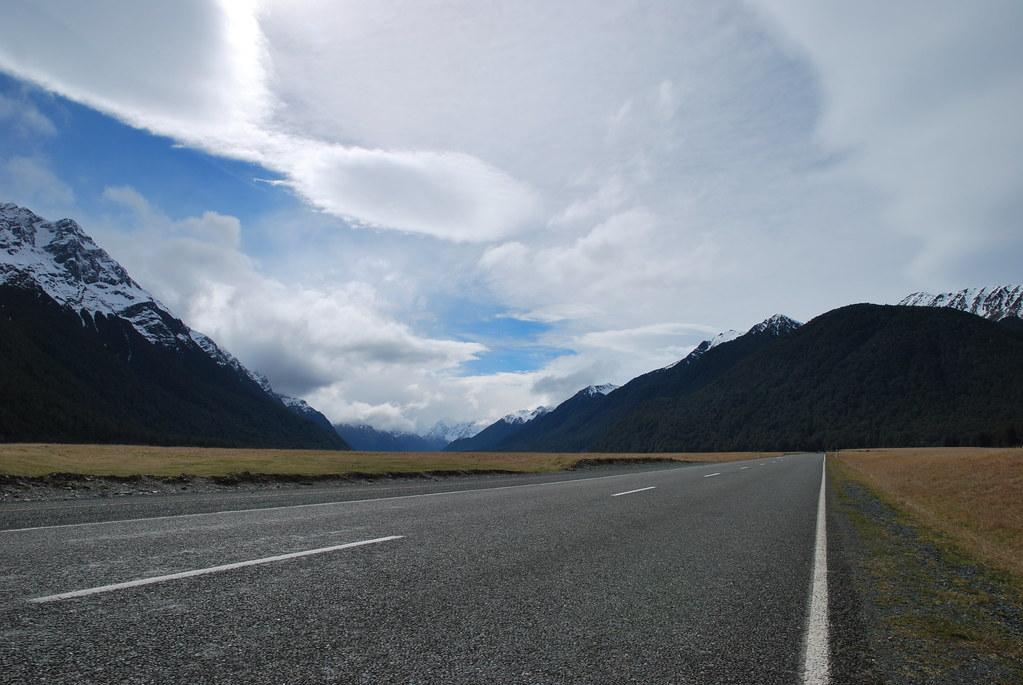 Road to Milford Sound - Southland - South Island - New Zealand