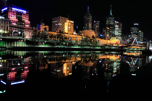 Melbourne @ night
