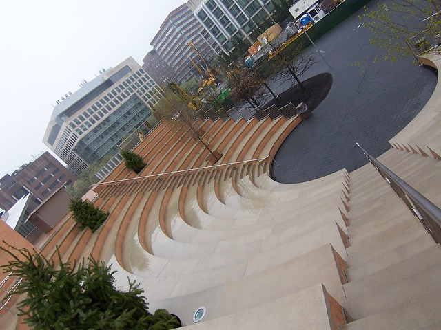 stata center roof plaza