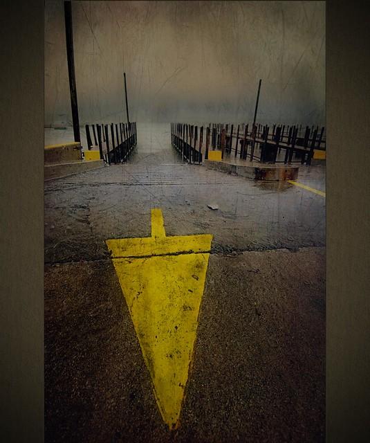 Rainy Day at Diversey Harbor