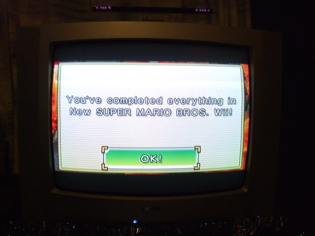 New Super Mario Bros Wii 100% Complete