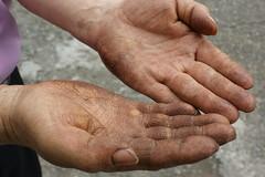leg(0.0), human body(0.0), holding hands(0.0), hand(1.0), arm(1.0), finger(1.0), skin(1.0), limb(1.0), close-up(1.0), thumb(1.0), organ(1.0),