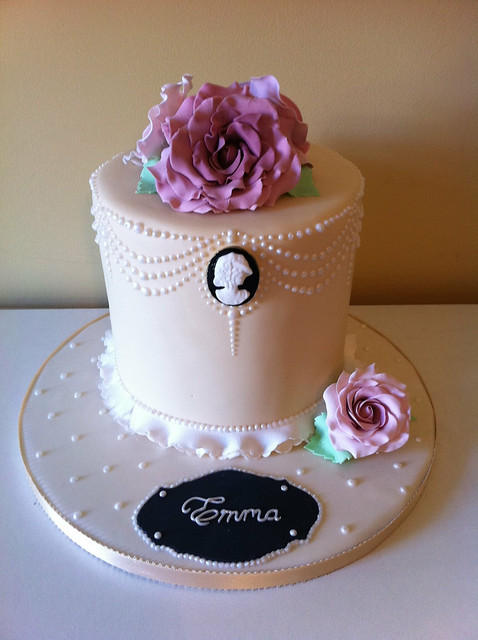 Nannette S Blog Cameo Wedding Cake Simple 2 Tier Cake