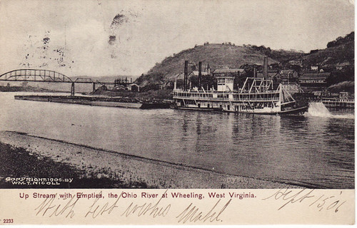 Ohio River at Wheeling, W.Va., c1906