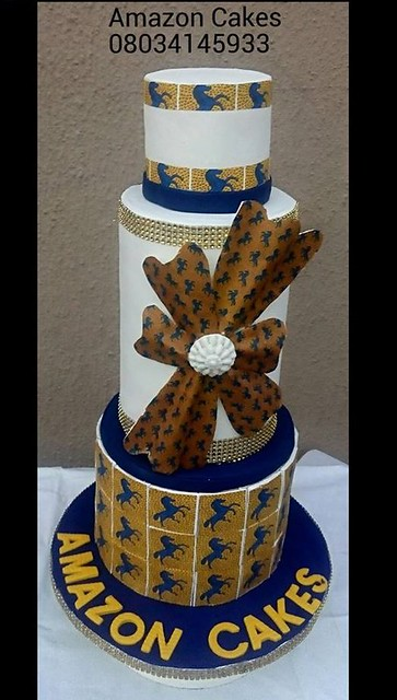 Cake by Cynthia Charles Egbuleze of Amazon Cakes N More