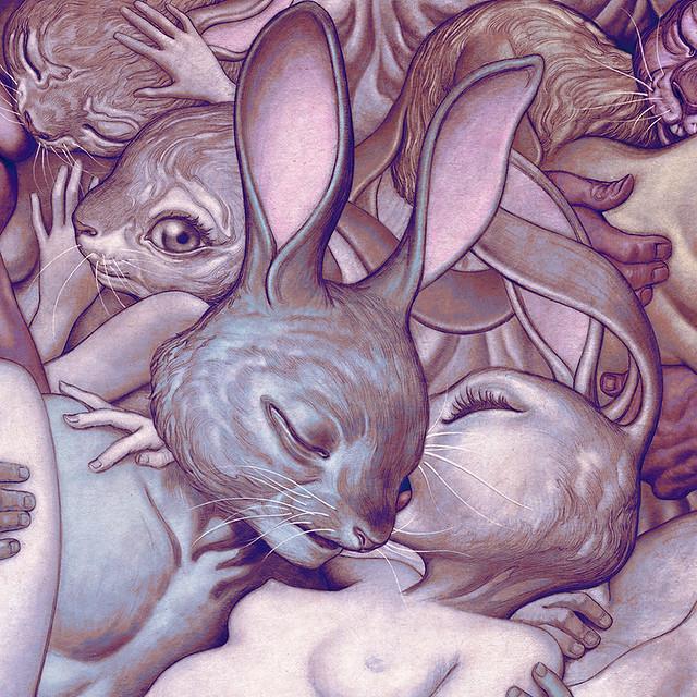 James Jean 「Lapins d'Amour」情人節24小時限定販售數位版畫!