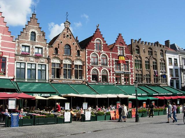 Le Markt (Grande-Place) de Bruges