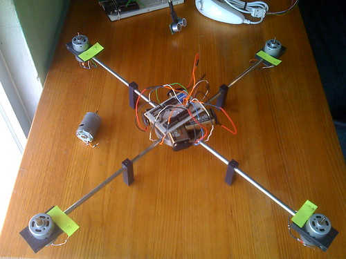 Motor size for quadcopter diy arduino kit