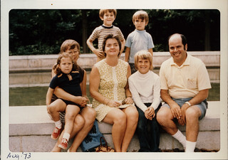 1973 Aug. TR Island with Larry, Barb, and Tim Mayer