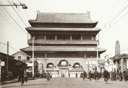Gu lou,Old Beijing鼓楼(1961年)