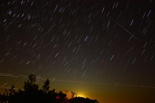 stars astrophotography meteor lickobservatory mthamilton shootingstar startrail perseidas meteorshower perseid perseids perseidmeteorshower perseids2009