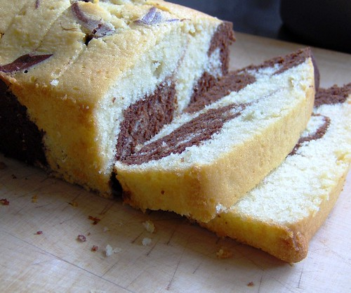 Chocolate Marble Pound Cake 4