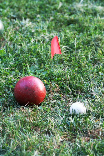 the end of our bocce season: 365: Day 1