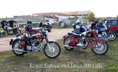 Royal Enfield & Jawa 500