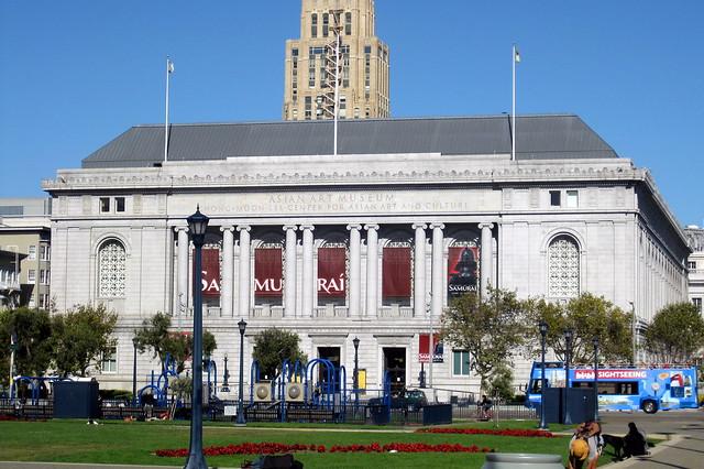 San Francisco - Civic Center: Asian Art Museum of San Francisco