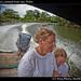 Kiet and Dawn, Lamanai boat tour, Belize