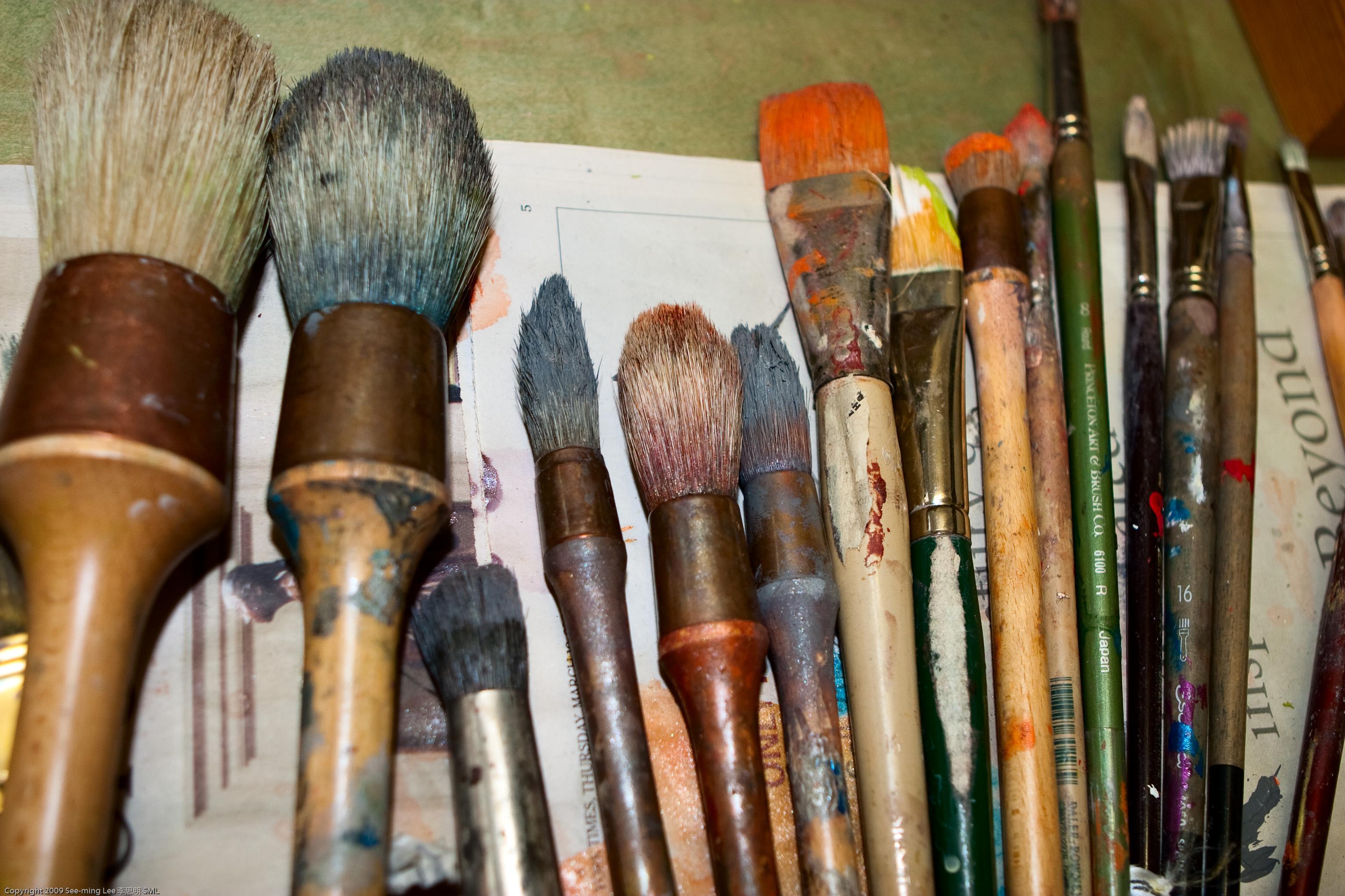 Artist Brooklyn Paint Wood Sk