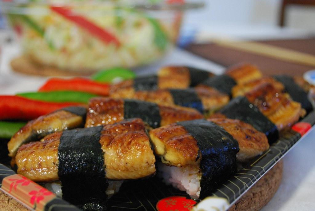 Unagi Nigiri Sushi - Suzuran