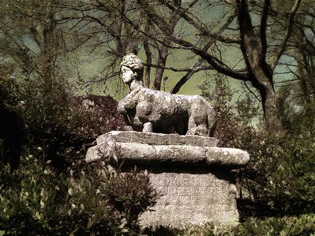 Sfinge Bomarziana