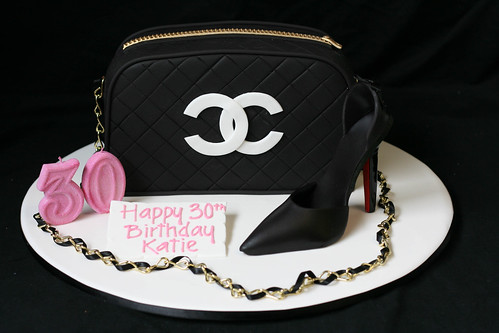 Chanel Handbag and Christian Louboutin Shoe