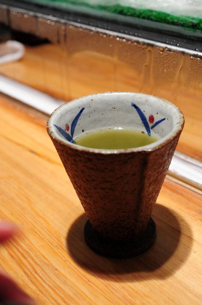 筌壽司-熱茶