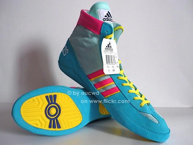 West Germany Adidas Wrestling Shoes