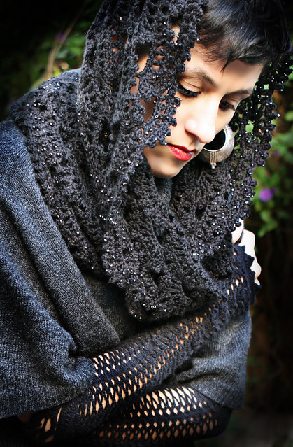 Where can I find a simple crochet hairnet snood pattern? - Yahoo