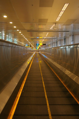 Travelator, Changi Airport, Singapore