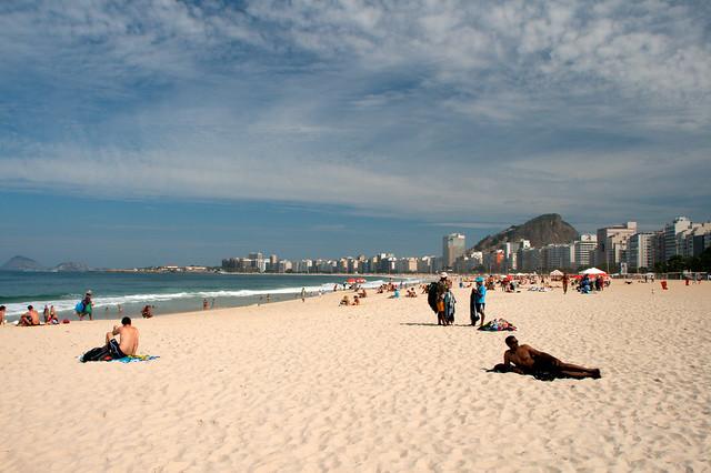 Пляж Копакабана фото