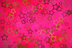 Stars on Pink Background ~ Free