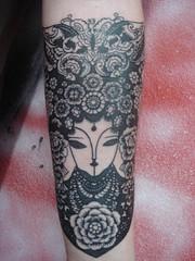 chinese lady (Dejavu Tattoo Studio Chiangmai Thailand)