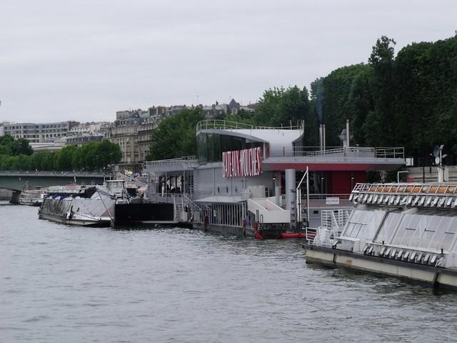 Bateaux mouches back to the pont de l 39 alma flickr photo sharing - Vernis pont de bateau ...