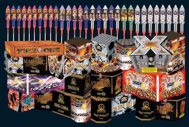 big ben display pack - epic fireworks