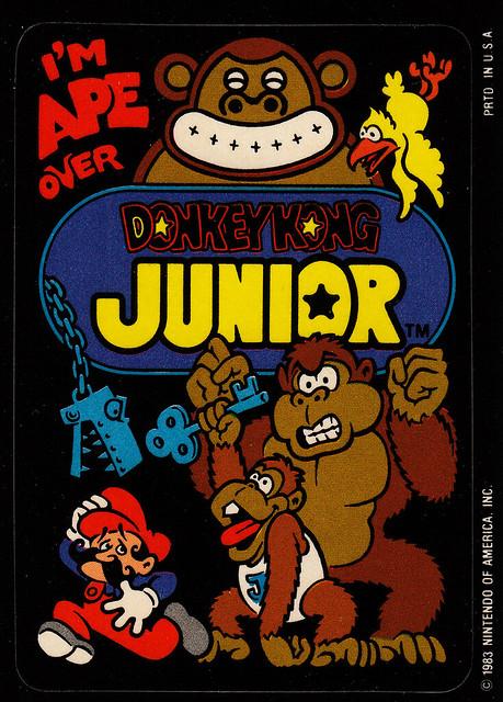 Donkey Kong Junior Stickers 5 Flickr Photo Sharing