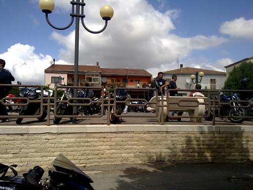 Swarms of Bikers arrive