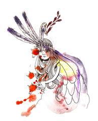 fairy(0.0), sketch(0.0), costume design(1.0), drawing(1.0), cartoon(1.0), illustration(1.0),
