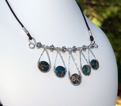 Bold Aqua Terra Necklace