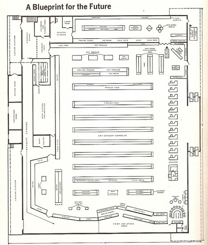 A&P Floor Plan c1970