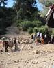 doing the washing - Berber village