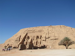 Temple of Ramesses II at Abu Simbel, Egypt