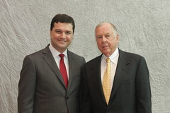 Ricardo with Mr. T Boone Pickens